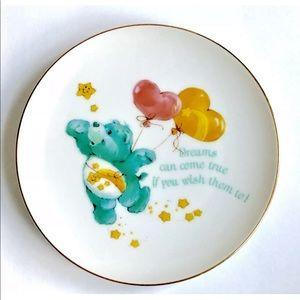Care Bears Vintage 1984 Fine Porcelain Plate